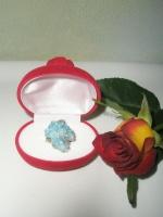 Δακτυλίδι Μπλε Χαλαζία