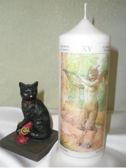 Κερί Ταρώ-Διάβολος