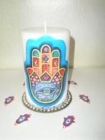 Κερί το χέρι της Φατιμά