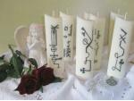Κεριά Υπογραφές Αρχαγγέλων