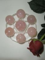 Ροζ-Κουάρτζ σε κρύσταλλο Πεντάλφα